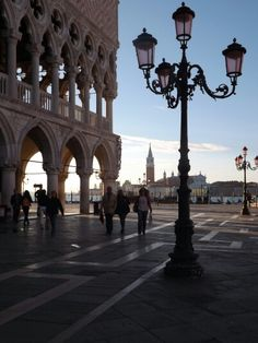 Early morning st marks square