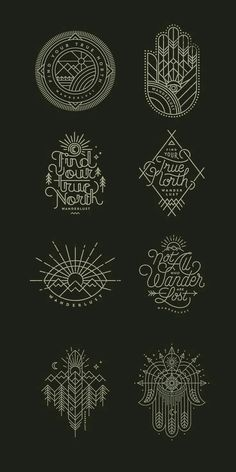 Tattoo inspiration drawing Travel mountains nature Mandala Compass, Compass Symbol, Compass Logo, Hamsa Tattoo Design, Hamsa Design, Ethnic Design, Tattoo Designs, 3rd Eye Tattoo, Sternum Tattoo