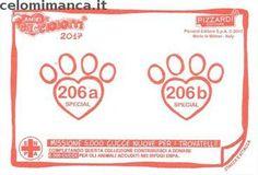 Amici Cucciolotti 2017: Retro Figurina n. 206 -