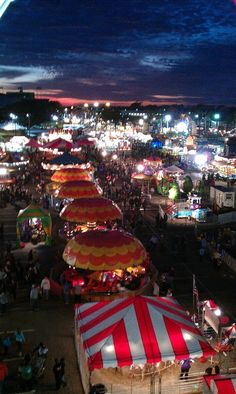 Louisianna state fair Shreveport - my parents took me as a child - many fond memories
