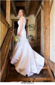 bride portrait, shenandoah mill wedding, brooke marcella photography