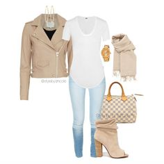 """A D. Ni'Cole inspired look. Click the link in the bio for fit details. Search for the POLYVORE tab."""