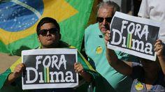 Presidenta? Peça para sair, tenha DIGNIDADE uma vez na sua vida! Protesto   Eraldo Peres