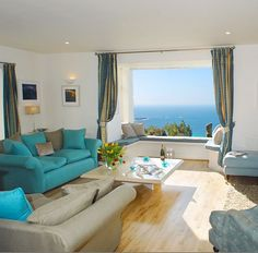 Beach cottage overlooking Sennen Cove – one of west Cornwall's most beautiful beaches {UK} Click to go inside this beautiful home!