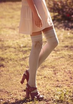 stockings: light weight dress... great look