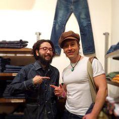 http://chicerman.com  selvedge-socks-shoes:  Great reunion Goran. Welcome to Osaka!! #selvedgerun #studiodartisan #rawdenim #denimdudes #denimheads #denimlovers #selvedge #selvedgedenim by @yuya_3po  #menshoes