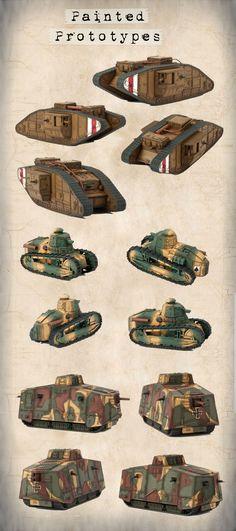 Tanks of WWI Kickstarter – August, 2014