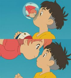 Ponyo - best and cutest ending of any movie ever made!
