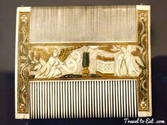 Ivory Comb, Annunciation and Adoration of the Magi, Italy late 15th Century. Musée de Cluny, Paris