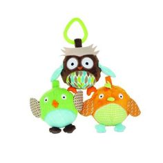 Skip Hop Baby Treetop Friends Animal Ball Activity Toys Multi: This trio of two adorable birdies and one wise owl invites baby to grab, squeeze and roll. And these soft, squishable pals go anywhere with baby. Friend Activities, Pram Toys, Activity Toys, Activity Ideas, Baby Owls, Baby Boy, Mom Baby, Baby Games, Baby Registry