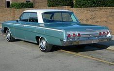 1962 Impala 4 door - Still looks better than the one I had. #chevroletimpala1962