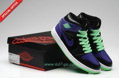 df823df39502 Buy New Womens Air Jordans 1 Black Electric Green Purple Super Deals from  Reliable New Womens Air Jordans 1 Black Electric Green Purple Super Deals  ...