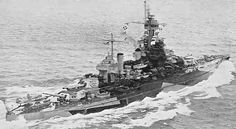 USS Colorado in late WW2 guise after extensive modernisation: lead ship of the third class of US dreadnoughts (the first to mount 16 in guns), she was fortunate to be absent from Pearl Harbor on 7 December 1941.  Her eventful Pacific War career included two kamikaze strikes in November 1944.  She was scrapped in 1947.