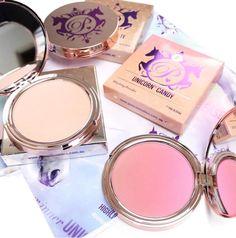 Poni Cosmetics UNICORN Range available now at The Cosmetix Co Unicorn, Blush, Sparkle, Range, Rainbow, Cosmetics, How To Make, Beauty, Rain Bow