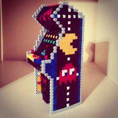 3D Arcade machine perler beads by TRBVNDL