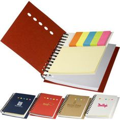 Prime Line PL 4410 Eco sticky book with page flags, notepad and ruler $2.25