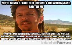 Bahaha those fireworks, Joe Dirt Joe Dirt Quotes, Movie Quotes, Funny Quotes, Tv Quotes, Song Quotes, Firework Stands, Super Funny Memes, Good Movies, Awesome Movies