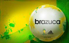 Balón oficial de la Copa Mundial de Brasil 2014.