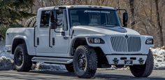 This behemoth of a truck is a consignment vehicle at Morrie's Luxury Auto. Medium Duty Trucks, Heavy Duty Trucks, Military Style, Military Fashion, Mens Fashion, Jeep Pickup, Pickup Trucks, International Harvester Truck, New Trucks