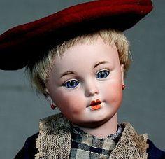 Simon Halbig 1279 Character Child in Antique Ensemble (item #1275999)