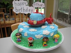 A Little Einsteins Birthday. Going to attempt some type of LE cake for Levi's 2nd birthday.