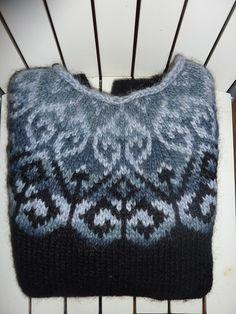 Ravelry: Yesiriel's Sjón in bruin en beige alpaca Fair Isle Knitting Patterns, Fair Isle Pattern, Knit Patterns, Ravelry, Icelandic Sweaters, Nordic Sweater, Knitting Projects, Knitted Hats, Knit Crochet