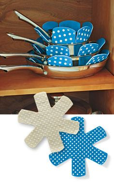 Solutions - Pan Protectors - sure i could make these