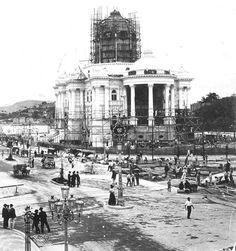 Construção do Palácio Monroe