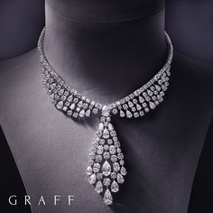 Diamond Necklaces : Masterful Craftsmanship At Graff, we are extremely proud of our expertise in…. - Buy Me Diamond Graff Jewelry, High Jewelry, Luxury Jewelry, Modern Jewelry, Diamond Jewelry, Jewelery, Silver Jewelry, Diamond Necklaces, Silver Ring
