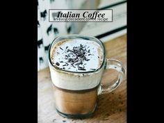 Italian Coffee Recipe |Bicerin Recipe