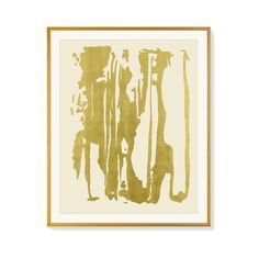 Williams-Sonoma Dripped In Gold ($1,150) ❤ liked on Polyvore featuring home, home decor, wall art, painted wall art, anchor home decor, textured wall art, abstract home decor and anchor wall art