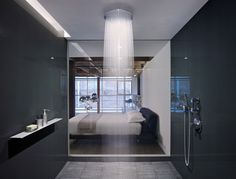 Love this shower room.