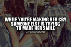 True that! better treat your girl right.