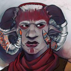 Inquiz adaar! #myart #mage #dragonageinquisition #dragonage #inquisitoradaar #qunari