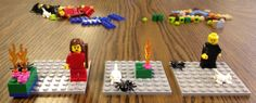 A review on how one teacher used lego story starters in her classroom