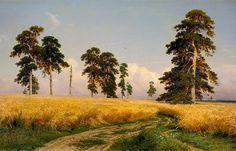 Рожь. И. Шишкин. 1878. | Фото: allpainters.ru.
