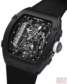 Richard Mille Thrustograph Tourbillon #watch