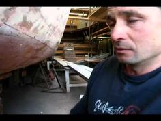 The art of wooden-boat restoration - YouTube