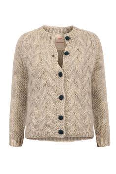 objets de désir Strickjacke ENRICA aus Alpaka und Mohair bei myClassico Online Shop für TOP-Fashion