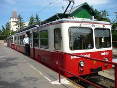 Cogwheel Railroad Budapest (travel uphill) - Hungary
