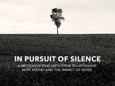 In Pursuit of Silence - documentary film