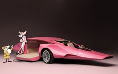 ❦1969 supercars Pink Panther.