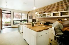 vertical panel wood wall - Google Search
