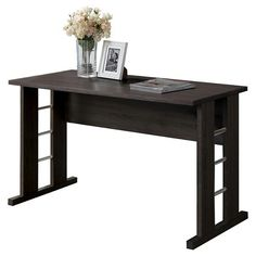 CorLiving Folio Desk - Black Espresso : Target