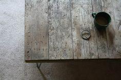 reclaimed wood. love it.