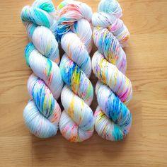 Pastel Pixelation SW Sock Yarn