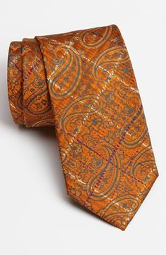 Etro Woven Silk Tie available at #Nordstrom   I have always had a thing for paisley on ties.