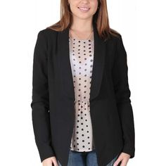 Sacou Dama YAS November Black November, Blazer, Sweaters, Jackets, Fashion, November Born, Down Jackets, Moda, Fashion Styles