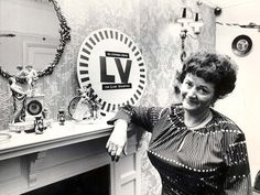 Cynthia Payne at home in Streatham. Was happy to accept Luncheon Vouchers : )