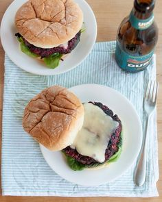 Recipe: Best-Ever Veggie Burger — Recipes from The Kitchn We are trying these this summer @Ellen Berglund!!!